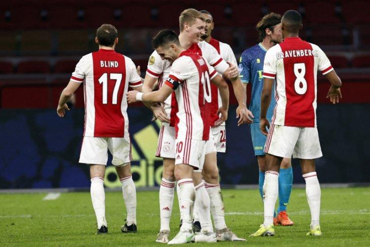 Liga Belanda: Ajax ukir kemenangan beruntun ketujuh usai benamkan Sparta 4-2