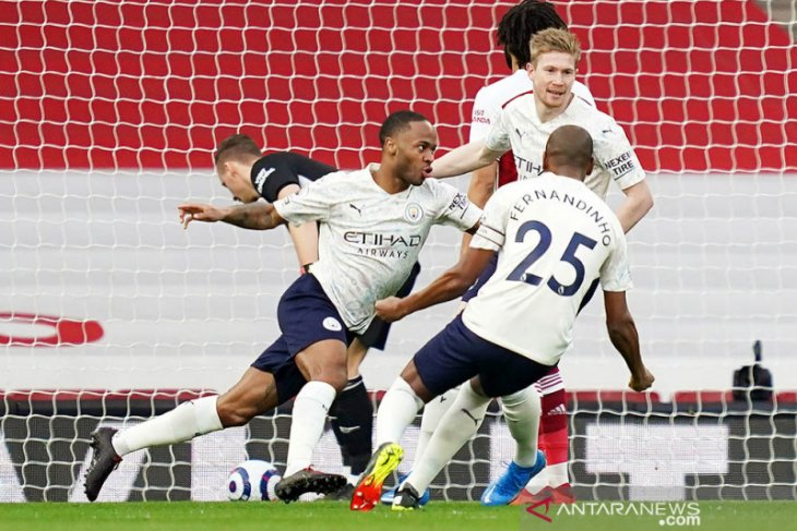 City mengukir kemenangan beruntun ke-18 di liga usai tundukkan Arsenal