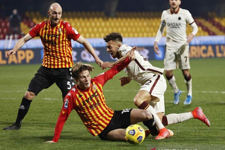 AS Roma hanya mampu bawa pulang satu poin dari markas Benevento