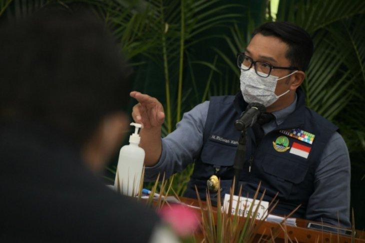 Gubernur Ridwan Kamil-Sandiaga Uno bahas kolaborasi pariwisata saat pandemi