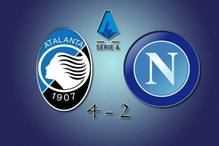 Enam gol tercipta pada babak kedua saat Atalanta taklukkan Napoli 4-2