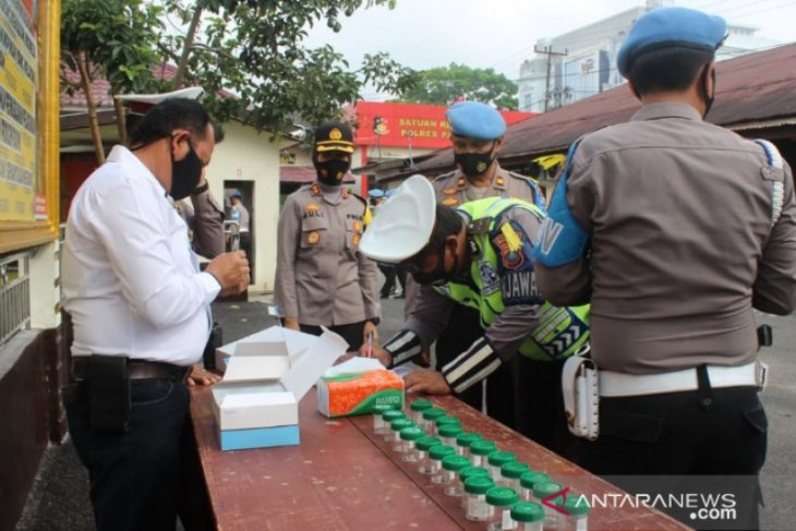 276 personel Polres Padangsidimpuan nihil konsumsi narkoba