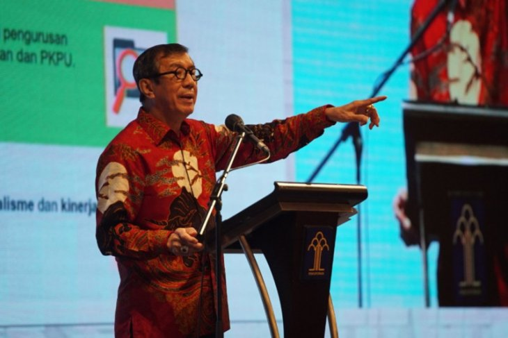 Yasonna: SBY-AHY jangan tuding pemerintah terkait masalah Demokrat