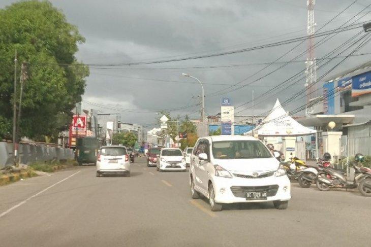 Suasana Mamuju berangsur pulih setelah gempa
