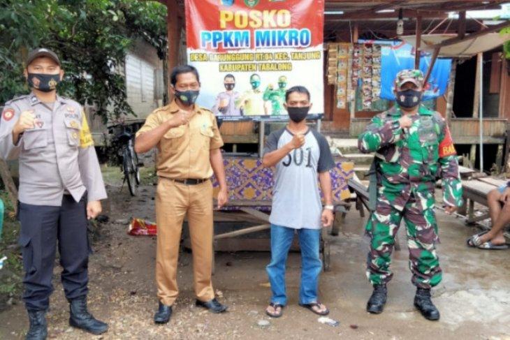 Desa Garunggung Tabalong miliki Posko penanganan COVID-19