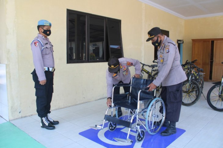Dukung 100 hari kinerja Kapolri, Polres Tapteng sediakan layanan untuk disabilitas