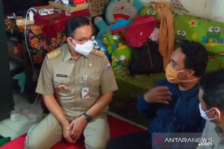 Gubenur Anies ajak masyarakat jauhkan anak dari tempat berisiko saat banjir