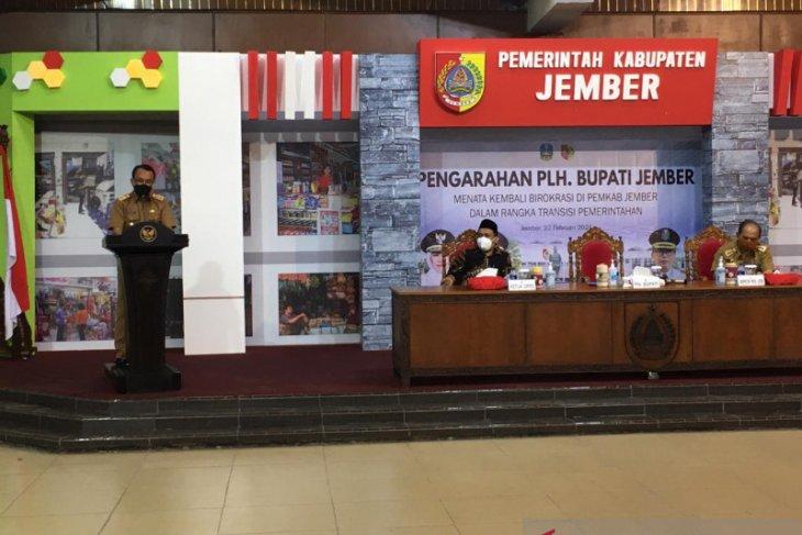 Plh Bupati Jember lakukan penataan birokrasi sesuai surat gubernur