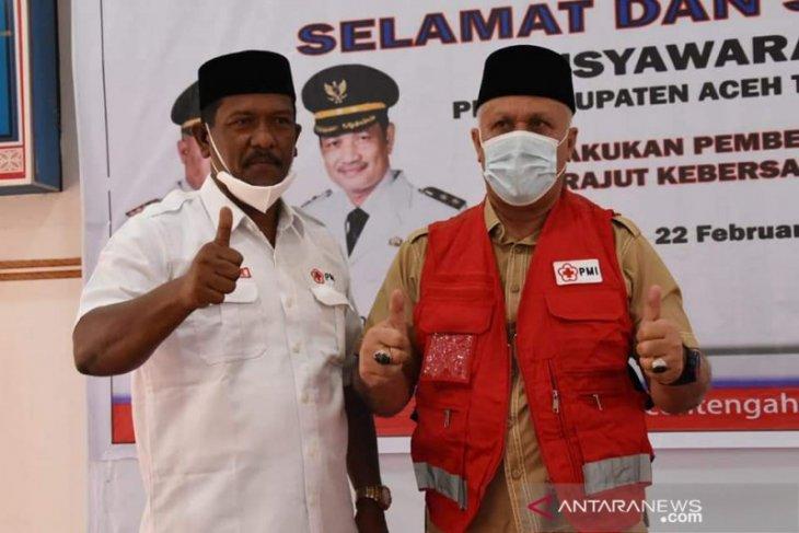 Setelah lama vakum, Bupati Aceh Tengah minta PMI tetap eksis