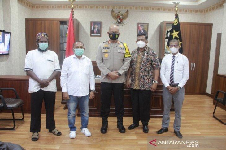 Kapolda Maluku harapkan persoalan internal KSBSI diselesaikan