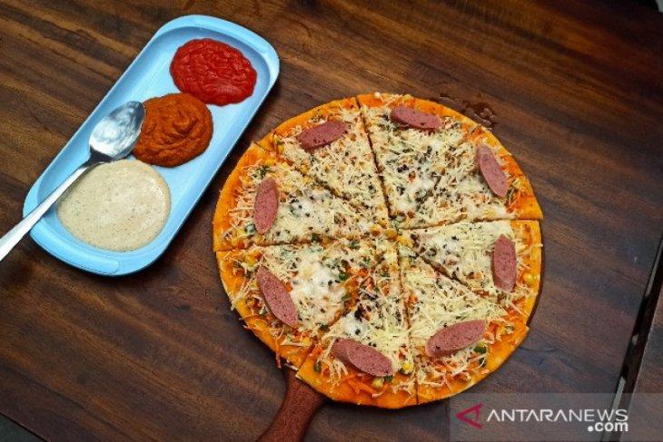 Pizza Andaliman, kuliner khas Toba yang kian diminati