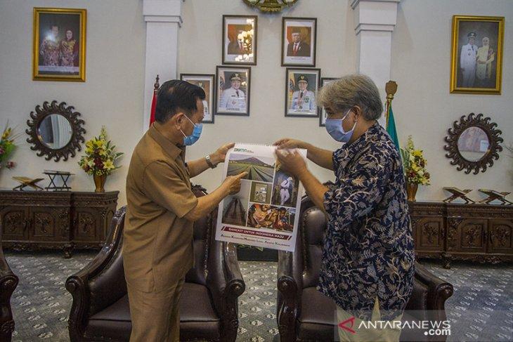 Silahturrahmi LKBN ANTARA Bersama Bupati Tapin
