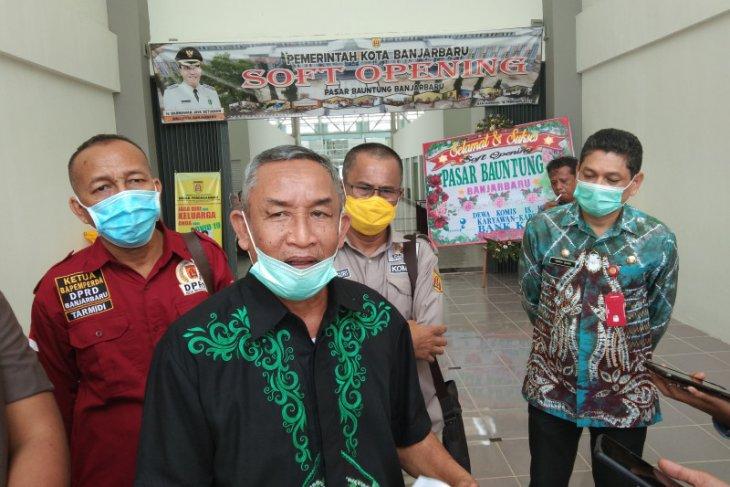 Waket DPRD dukung pemindahan pedagang Pasar Bauntung