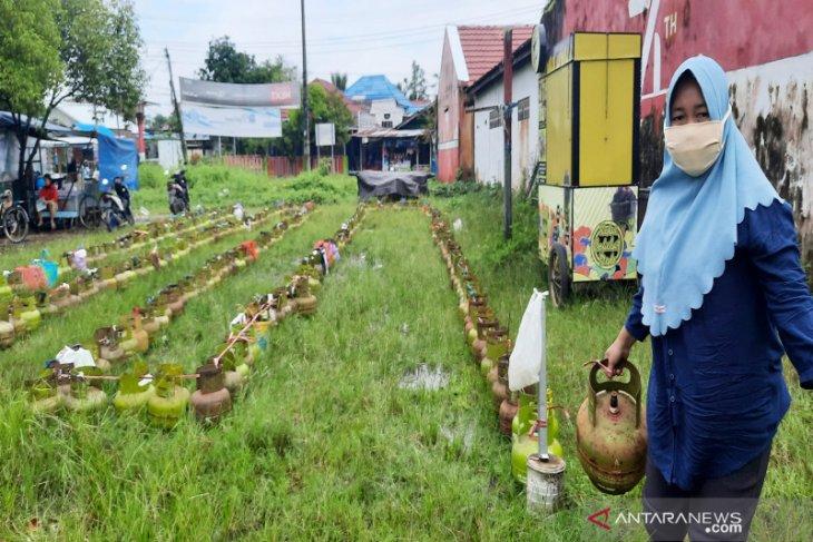 Masyarakat Kalsel menjerit harga elpiji 3 kg Rp60 ribu