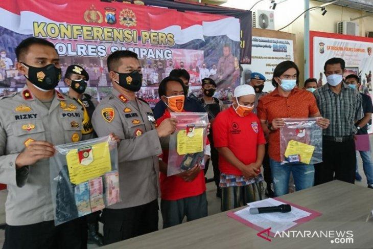 Polres Sampang tangkap oknum pegiat LSM lakukan pemerasan pokmas
