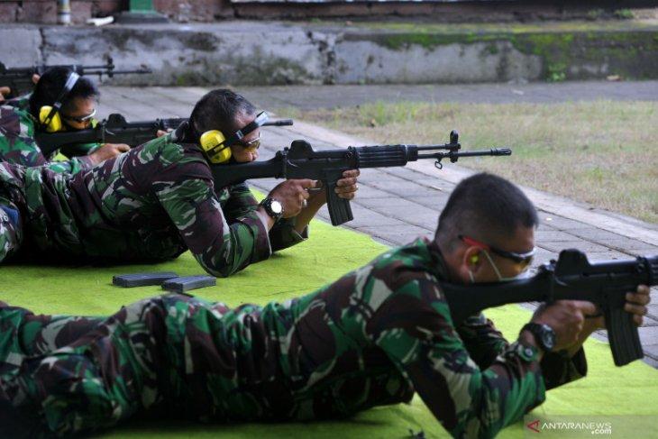 Lanud I Gusti Ngurah Rai tingkatkan skill prajurit dalam menembak