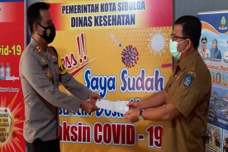 Suntik vaksin tahap kedua di Pemkot Sibolga selesai digelar