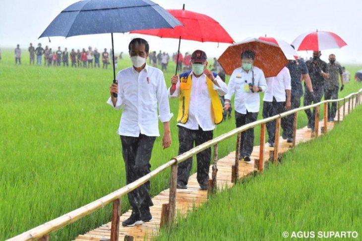 Presiden Jokowi ingin ada tambahan waduk dan embung