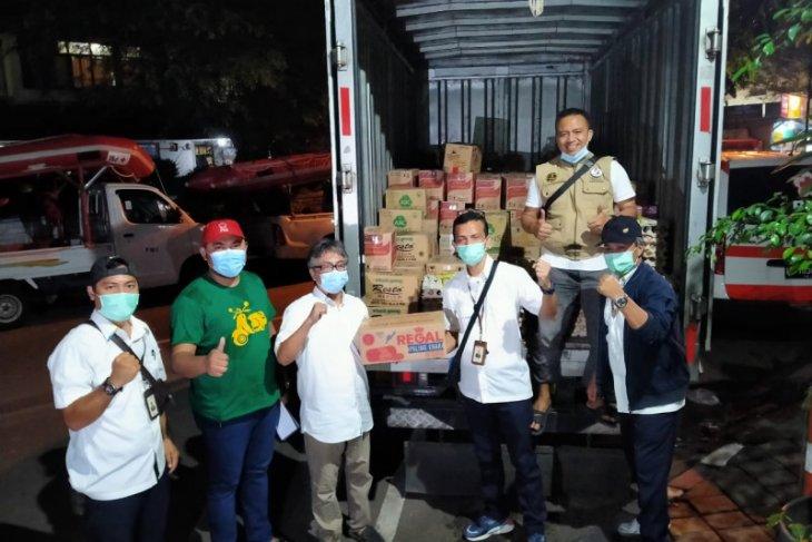 AP II bantu sembako untuk warga Kota Tangerang terdampak banjir