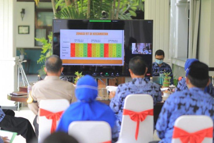 Jumlah RT berzona hijau di Kota Madiun meningkat berkat PPKM