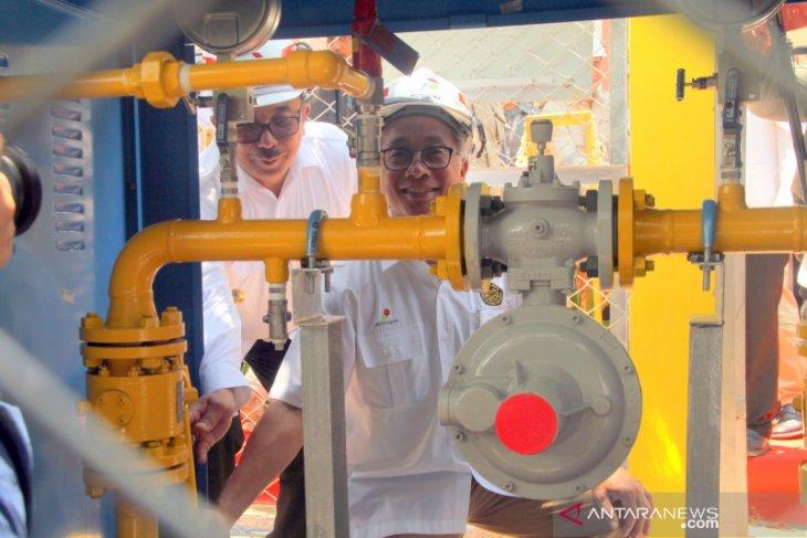 PHKT salurkan gas ke-621 rumah, bagian dari 3.500 Jargas Marangkayu.
