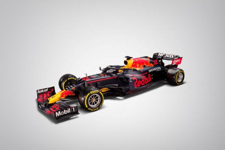 Red Bull memamerkan mobil baru untuk F1 2021
