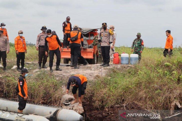Satgas Karhutla cek perbaikan kanal dan patroli di lahan gambut