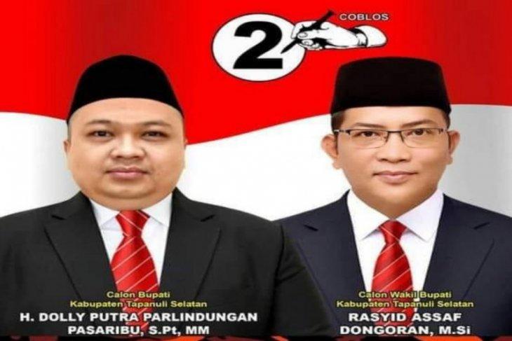Jumat, Bupati dan Wakil Bupati Tapsel dilantik di Medan