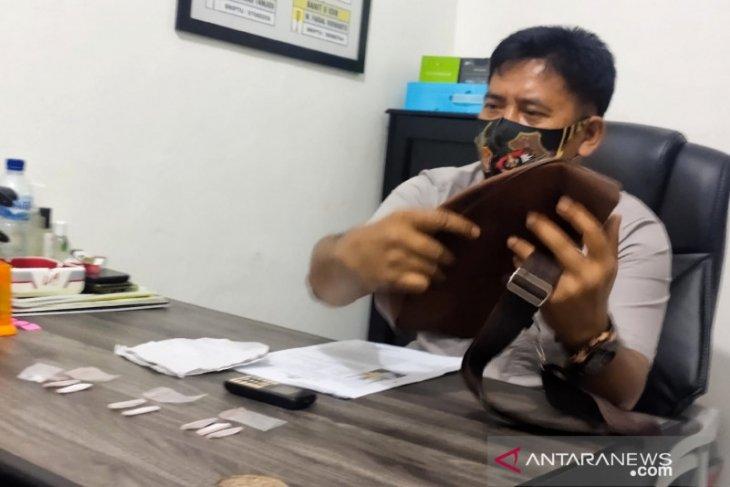 Polisi tahan warga Pandawan simpan empat paket sabu-sabu