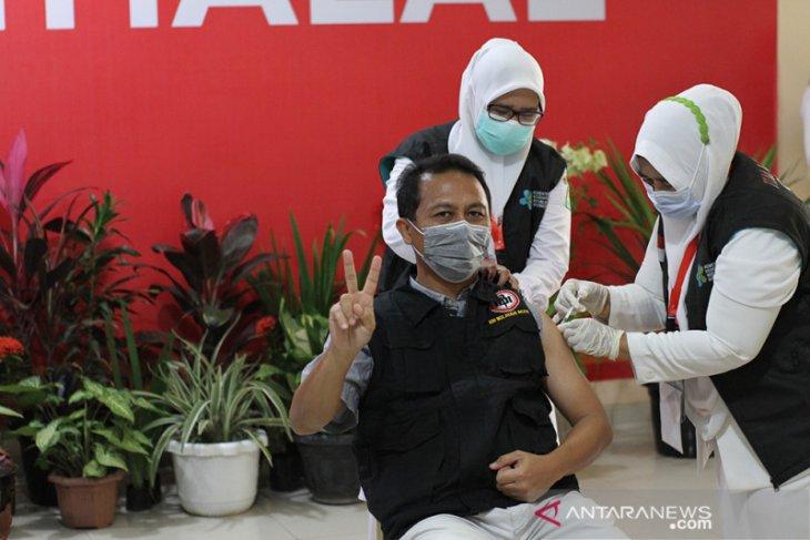 49 ribu nakes Aceh sudah disuntik vaksin COVID-19