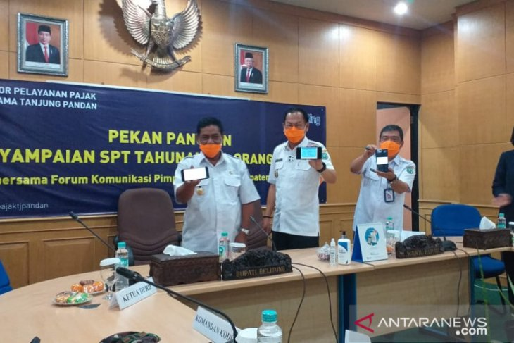 Bupati Belitung ajak ASN jadi contoh dalam pelaporan SPT