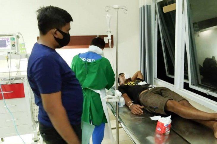 Gara-gara pompa air, nelayan ditusuk hingga masuk rumah sakit