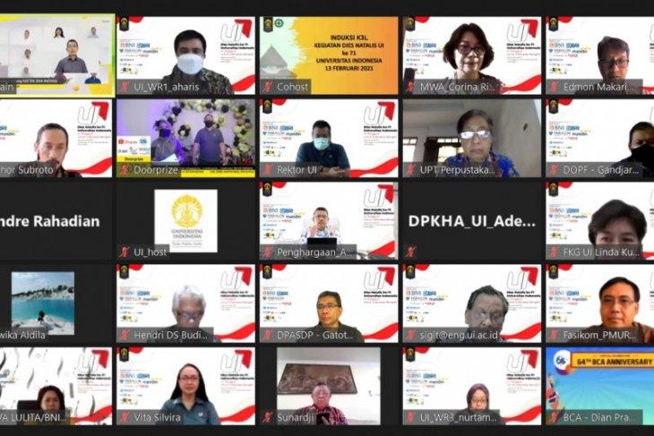 UI beri penghargaan atas kontribusi cegah dan tangani pandemi COVID-19