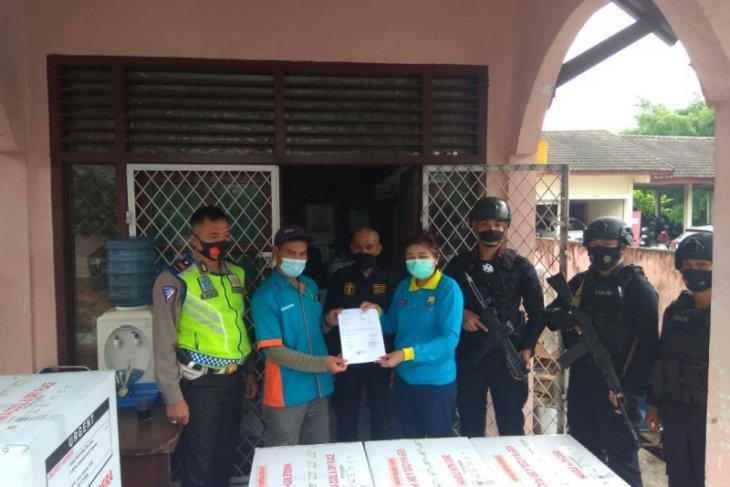 7.070 vial vaksin tahap II tiba di Jambi, dialokasikan ke dua daerah