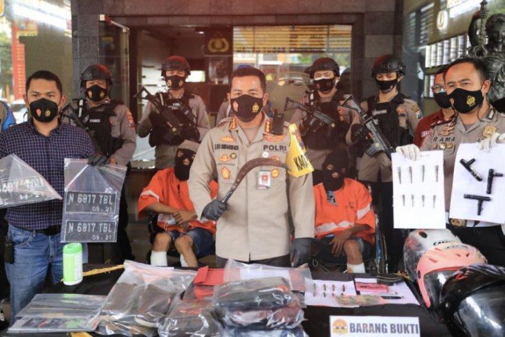 Polisi lumpuhkan pelaku curanmor di Kota Malang
