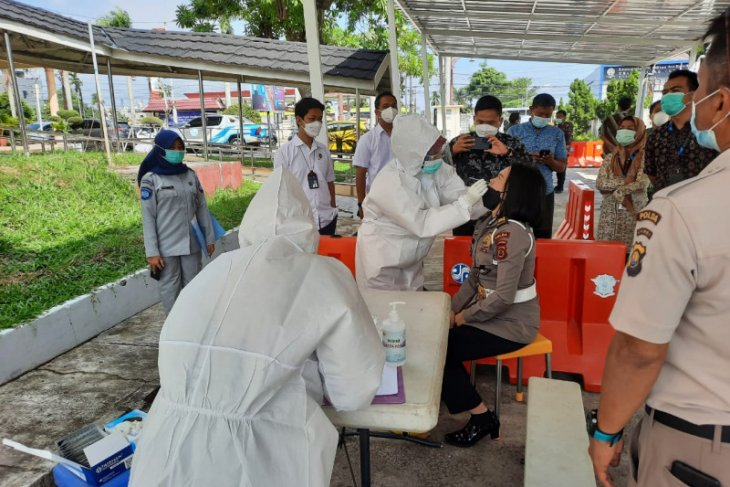 Jasa Raharja Jambi gelar rapid test antigen gratis di Samsat