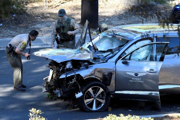 Tragedi kecelakaan mobil Tiger Woods bayangi World Golf Championships