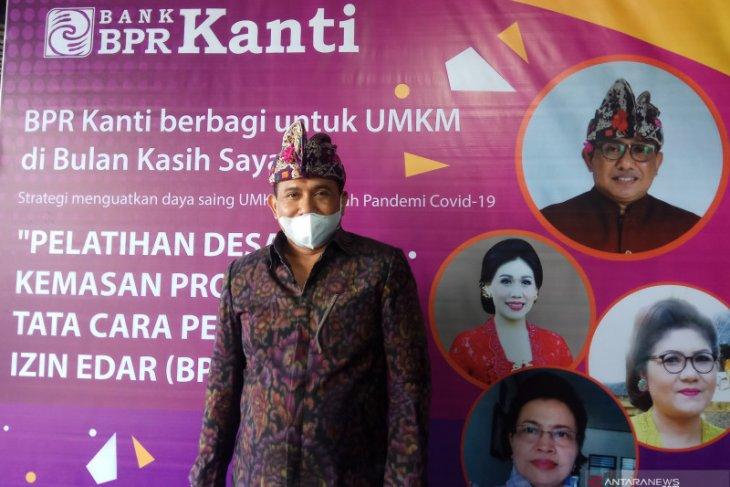 BPR Kanti adakan pelatihan kemasan produk untuk UMKM Gianyar saat pandemi