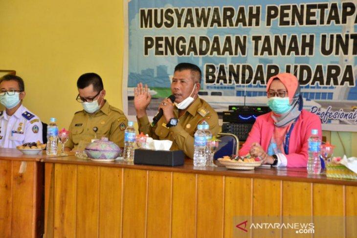 Pengadaan ganti rugi tanah Bandara Sukadana sudah sepakat