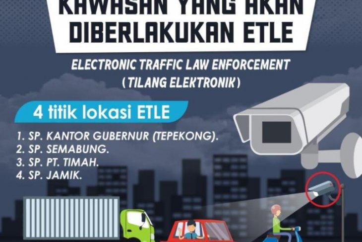 Ditlantas Polda Babel segera terapkan tilang elektronik