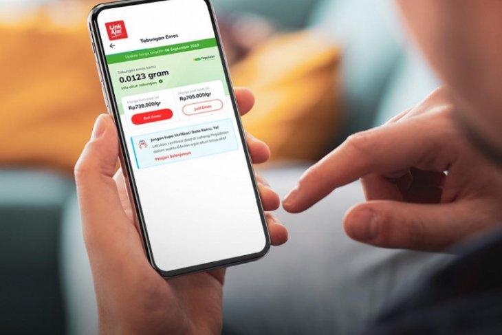 Fitur layanan Pegadaian kini tersedia di aplikasi LinkAja