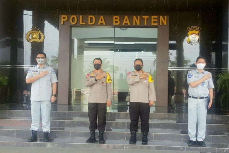 Perkuat kerjasama, Kacab Jasa Raharja Kunjungi Polda Banten