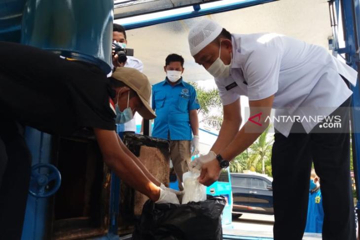 BNNP Kalbar musnahkan dua kilogram narkotika jenis sabu