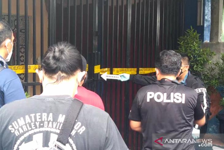 Tim Inafis gelar olah TKP ulang penembakan di Kafe RM