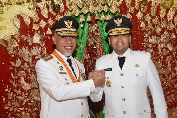 Sumatera Barat resmi miliki gubernur baru