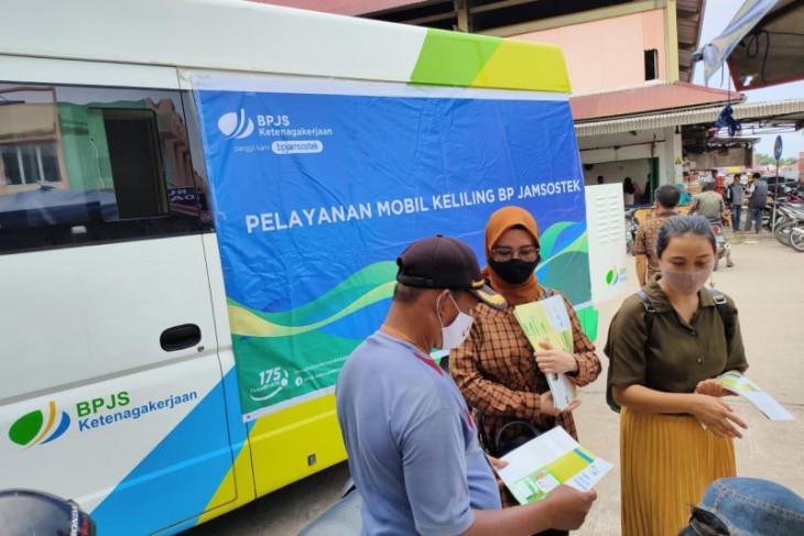 BPJAMSOSTEK Jambi sosialisasi program melalui pelayanan mobil keliling