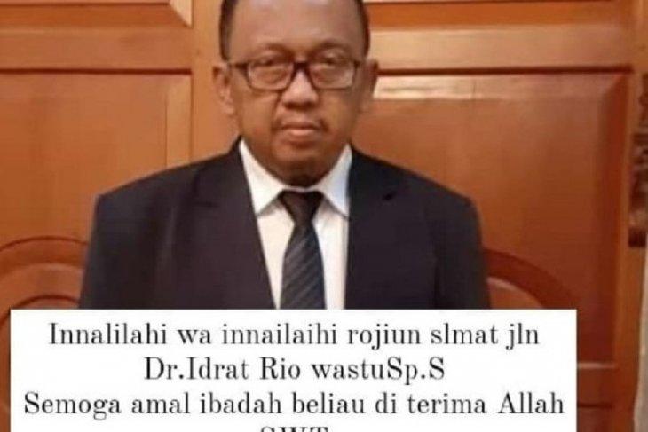 Dokter spesialis saraf RSUD Raden Mattaher meninggal terkonfirmasi positif COVID-19