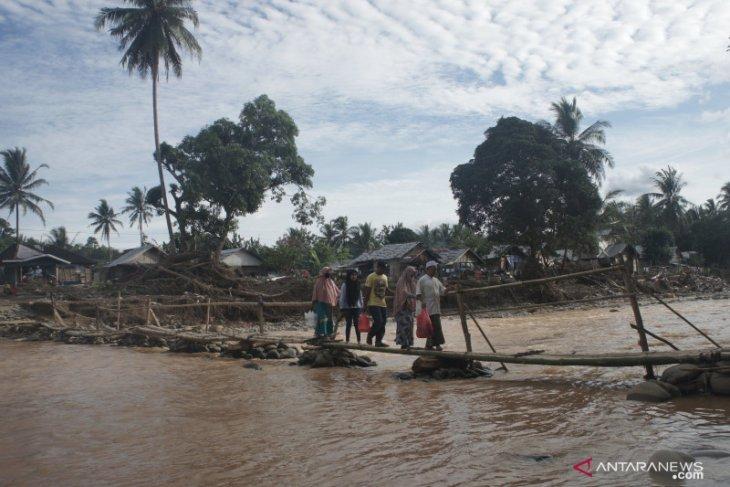 Kerusakan infrastruktur jalan dan jembatan akibat banjir di HST capai ratusan miliar