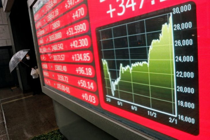 Pasar Asia menguat saat ketua Fed redakan kekhawatiran inflasi