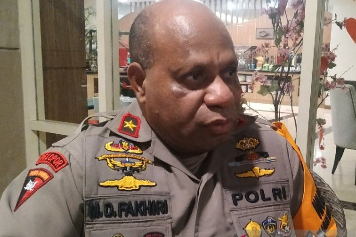 Five arrested for allegedly supplying firearms to Papuan armed groups